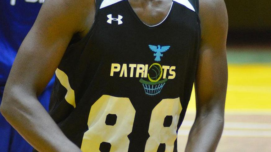 Aristide Mugabe scored a team joint-high 12 points in Patriots' 68-78 loss against Rwanda Energy Group on Friday night. / Sam Ngendahimana