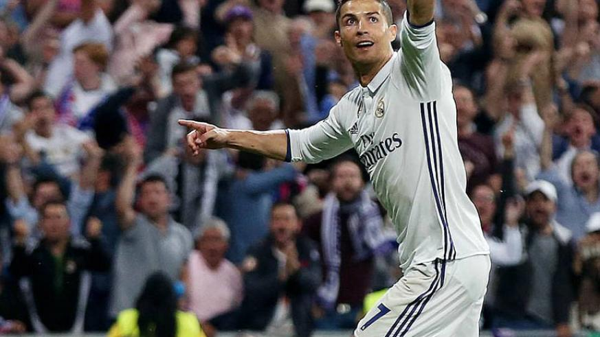 Ronaldo's hat-trick was too much for Atletico, who had no answer to the Real Madrid man's deadly finishing. Net photo