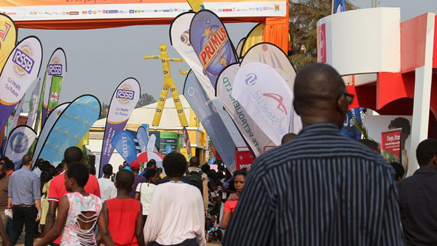 Showgoers at last year's annual RITF. The event created over 2,000 temporary jobs for the youth. / Courtesy