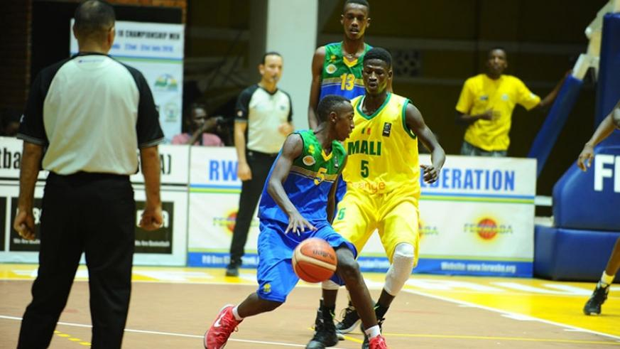 Rwanda has faced Mali before but at the youth level during the FIBA-Africa U-20 Championships held in Kigali last year. File
