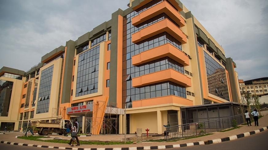 Chic complex in Kigali. Construction is one of the main sectors driving growth in Rwanda. (File)