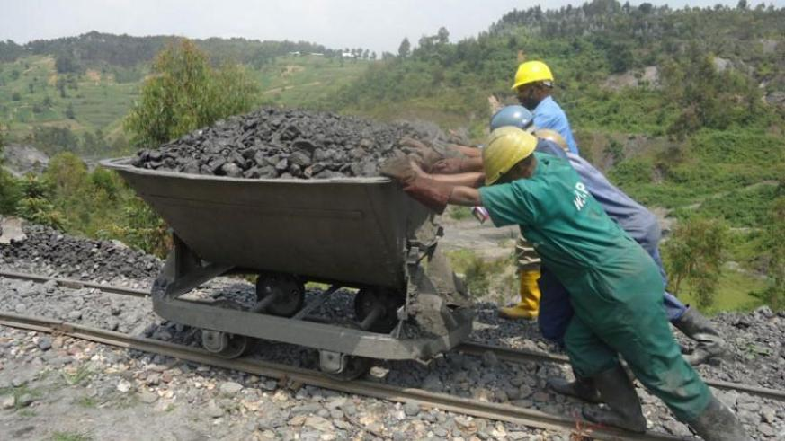 Investing in mining will accelerate economic growth. (File)