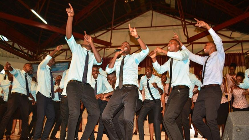Healing Worship team's album launch was an energy filled performance.(All photos by Frederic Byumvuhore)