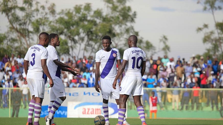 Sunrise FC players have threatened to go on strike and not honour Wednesday's Peace Cup game against APR unless they get their salary arrears for three months. (S. Ngendahimana)