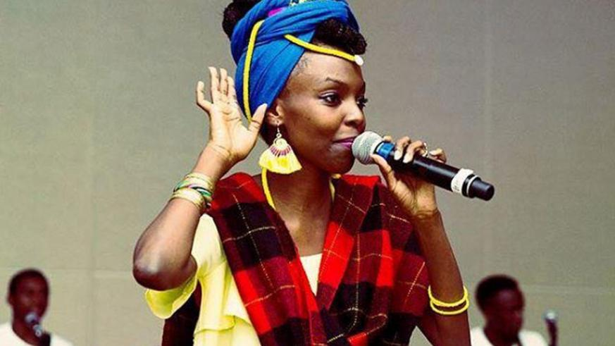 Diana Teta performing at a previous event in Kigali. (File)