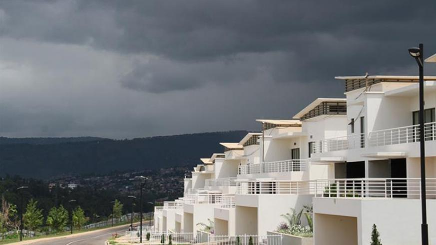 High-end Vision City residential houses in Kigali. (File)