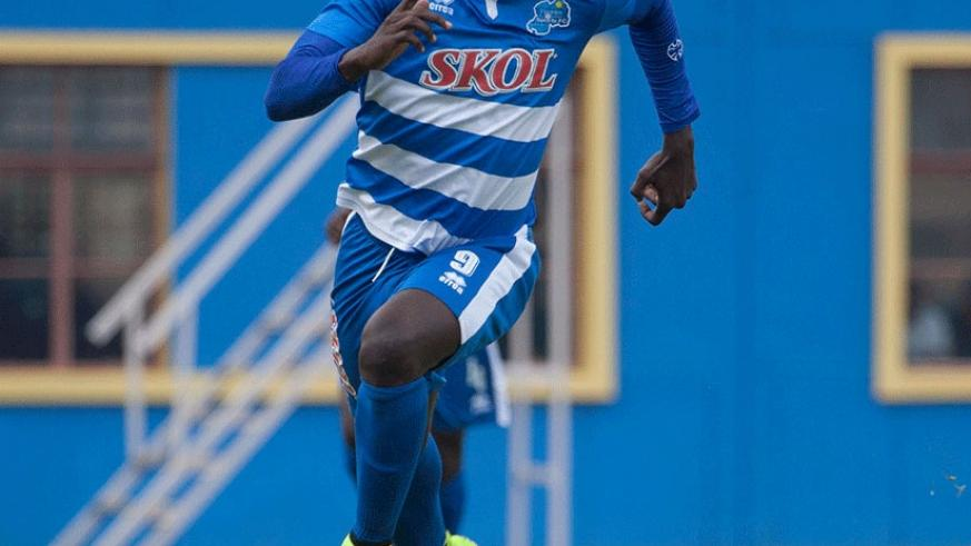 Rayon Sports' Malian striker Moussa Camara has missed his side's last four matches. (File)