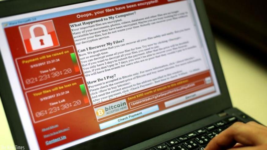WannaCry encrypts your files and demands payment to regain access. Net photo.
