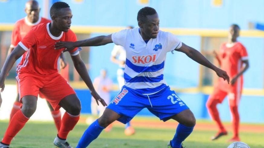 Midfielder Pierrot Kwizera netted a hat trick in the 3-3 draw against Musanze FC on Sunday at Amahoro Stadium.