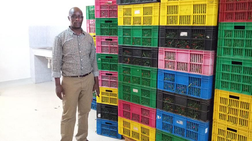 Ben Mugisha, CEO of Nature Fresh Foods.