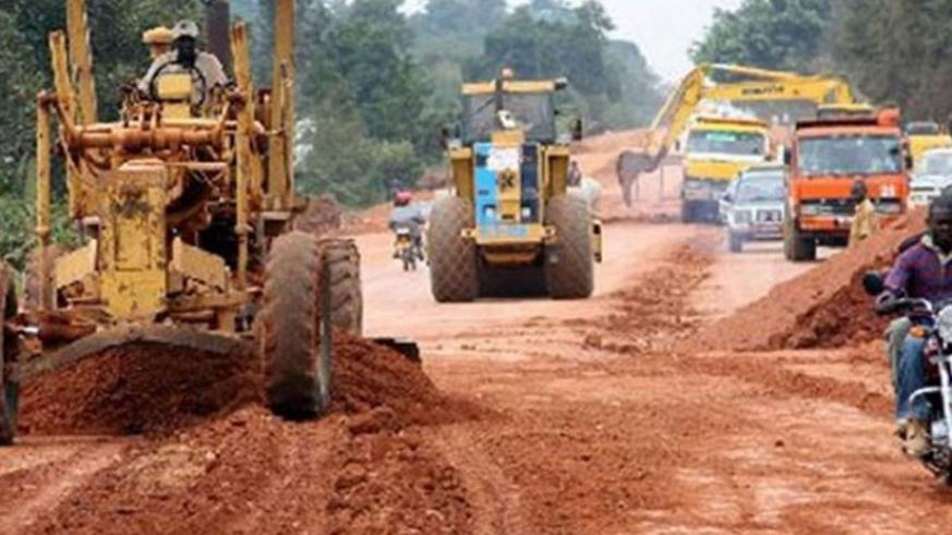 Road construction works are often among delayed and abandoned projects. (File)