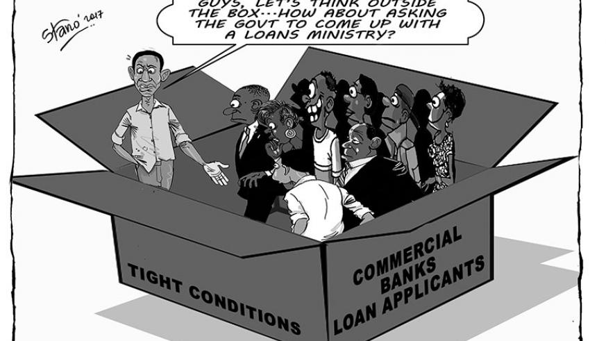 Young upcoming business men and women are having difficulties in accessing commercial bank loans.