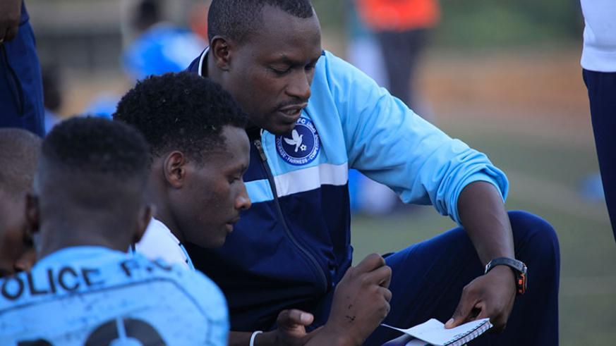 Police FC coach Seninga says his team will be looking for nothing less than nine points from the remaining three games. (Sam Ngendahimana)