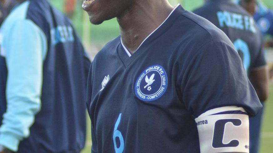 Twagizimana joined Police FC from AS Muhanga in 2008 as a youngster and has since been a regular first team player. (File)