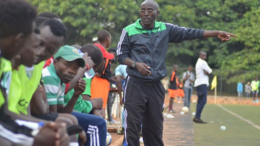 SC Kiyovu will be without head coach Kanamugire after the veteran trainer asked to be allowed to step aside for the last two games.