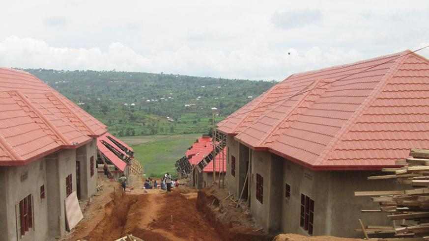 Affordable houses built by Abadahigwa ku Ntego Limited, which cost Rwf18 million each. The sector has failed to attract developers partly due to lack of affordable funding. / File