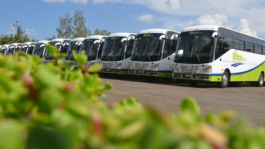 City of Kigali will soon introduce bigger buses than those in the photo above to ease traffic congestion in the city. File