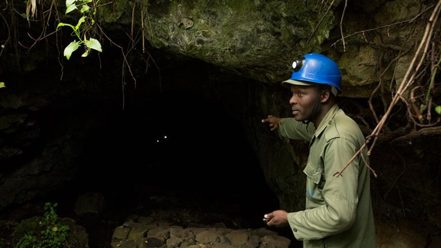 The Musanze caves give a unique insight into geological processes in Rwanda and are more than 65 million years old.