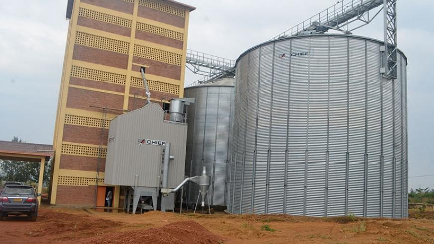 Money to finance projects like this warehouse in Bugesera can be raised from the Diaspora. / File.