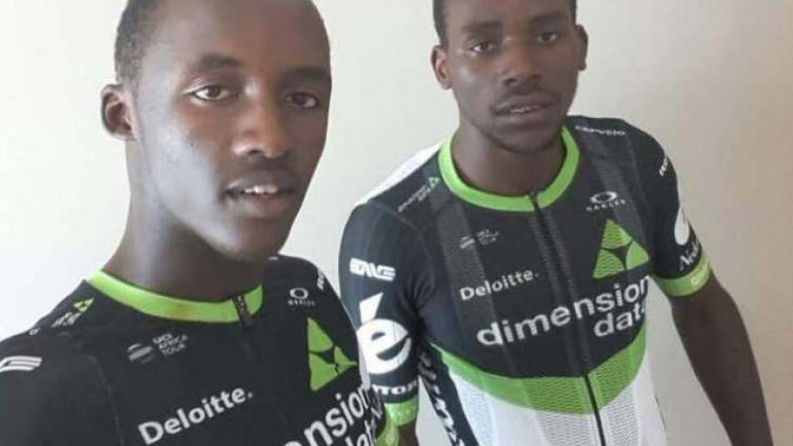 Mugisha (L) and Areruya will be the first Rwandan riders to compete in the prestigious race. / Courtesy