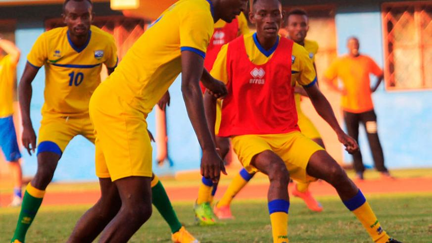 Amavubi will go into the match fresh from registering two wins over Morocco last weekend, the first outing for the national team in nearly nine months. / Sam Ngendahimana