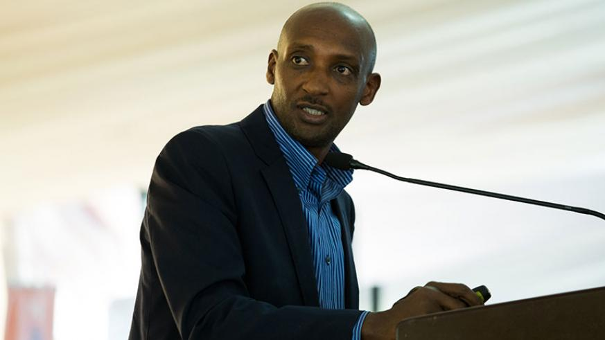 Tusabe outlines how RRA will effect new tax drives to improve efficiency and deliver revenue for National Budget during the meeting on Thursday. / Timothy Kisambira