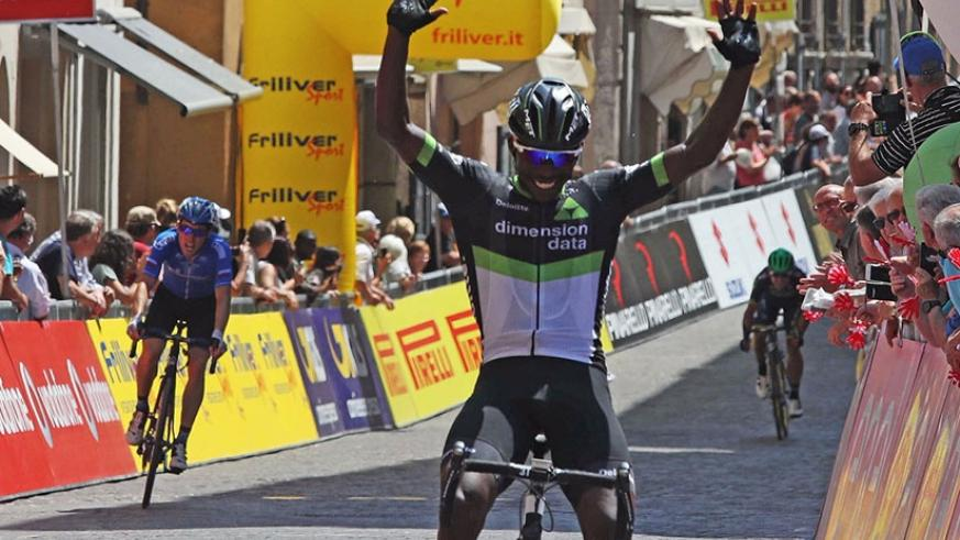 Stage 5 win was Areruya's second accolade at the prestigious one-week event after winning the King of the Mountains award on stage one. (Courtesy)