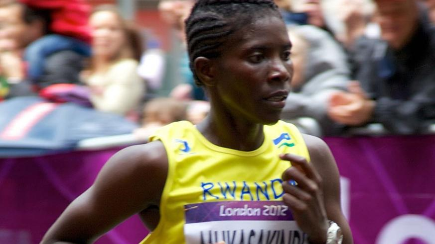 Mukasakindi competing in a local event last year.