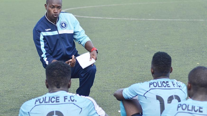 Innocent Seninga was delighted for guiding Police FC to second-place finish in his first season in charge. S. Ngendahimana