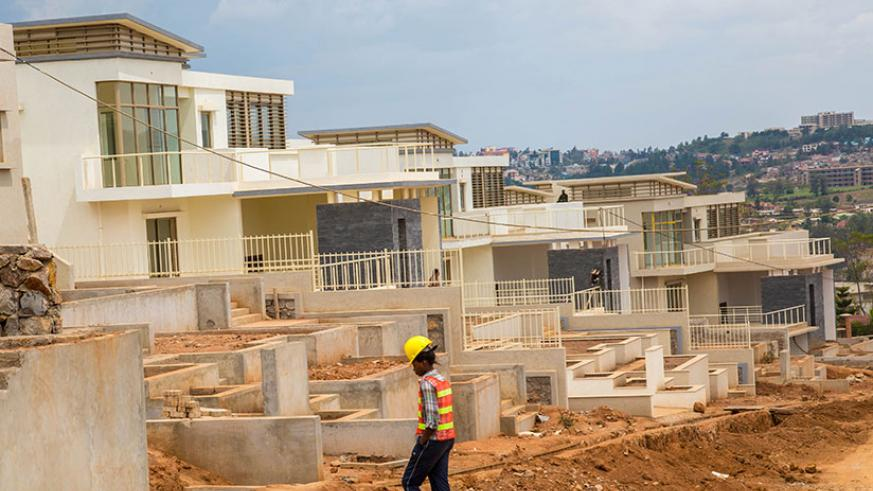 The construction sector has attracted many investors and is one of the key drivers of Rwanda's growth. / File
