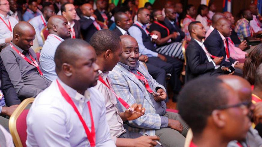 Some of the delegates at the recently-concluded Coke annual meeting in Kigali. / Donata Kiiza