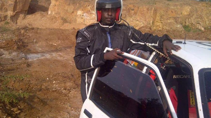 Yoto Fabrice (pictured) and his navigator Regis Remede will drive a Toyota Celica. Courtesy.