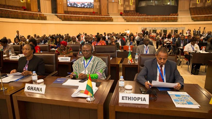 Participants attend the Africa Public Service Day in Kigali. Courtesy.