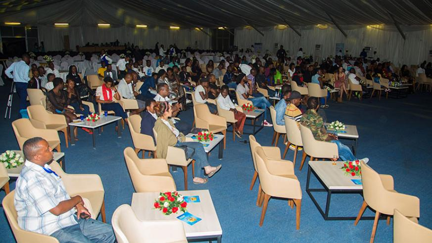 Most seats remained empty. / Faustin Niyigena