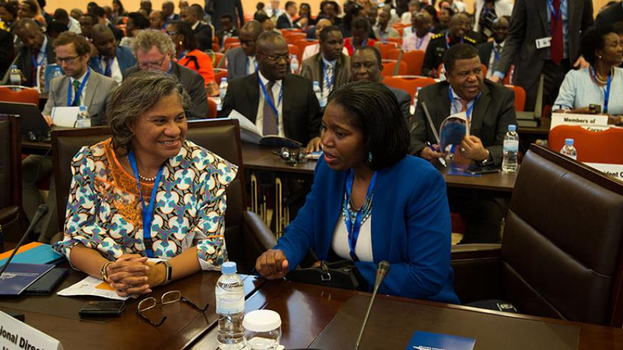 Delegates at the opening of inaugural Africa Health Forum of the World Health Organisation. / Timothy Kisambira