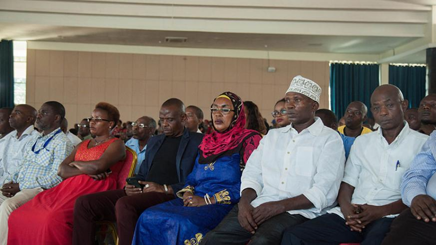 Participants during the meeting. / Nadege K. Imbabazi
