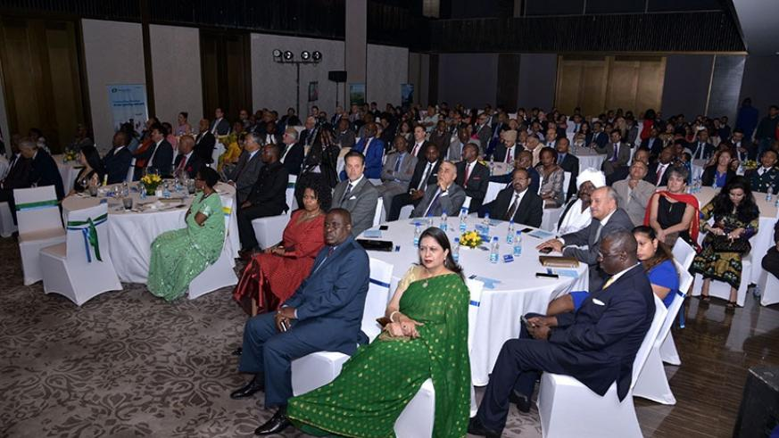 Rwandans and wellwishers during the Liberation Day celebrations in India. (Courtesy)