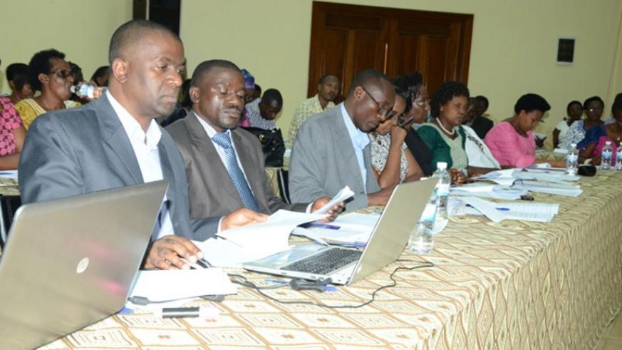 Some of the shareholders at the meeting. / Francis Byaruhanga.
