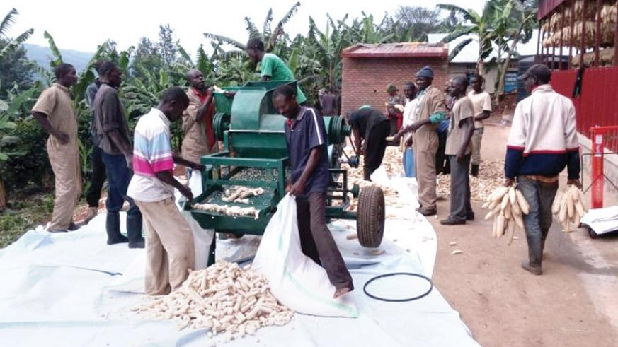 Government is supporting SMEs engaged in processing to increase their contribution to GDP. / File.