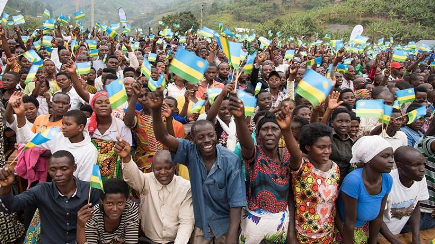 Rwandan citizens will be following presidential campaigns starting today. File.