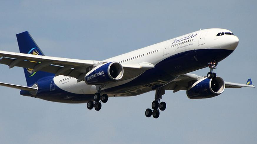 RwandAir has in recent days spread its wings beyond Africa, opening new routes for Asian and European markets, while it also plans to fly to the U.S in the future. File.