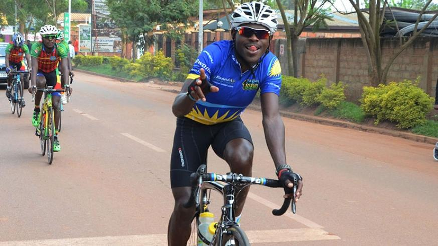 Reigning national champion Gasore Hategeka is part of the six-man Team Rwanda riders on the tour of the U.S. Sam Ngendahimana