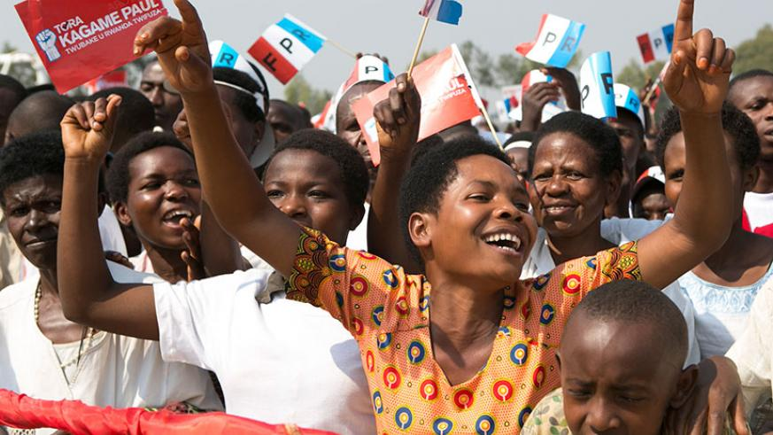 Thousands chanted pro-Kagame slogans and sung patriotic songs wherever Kagame addressed a rally in each of the seven districts that constitute Southern Province over the last three....