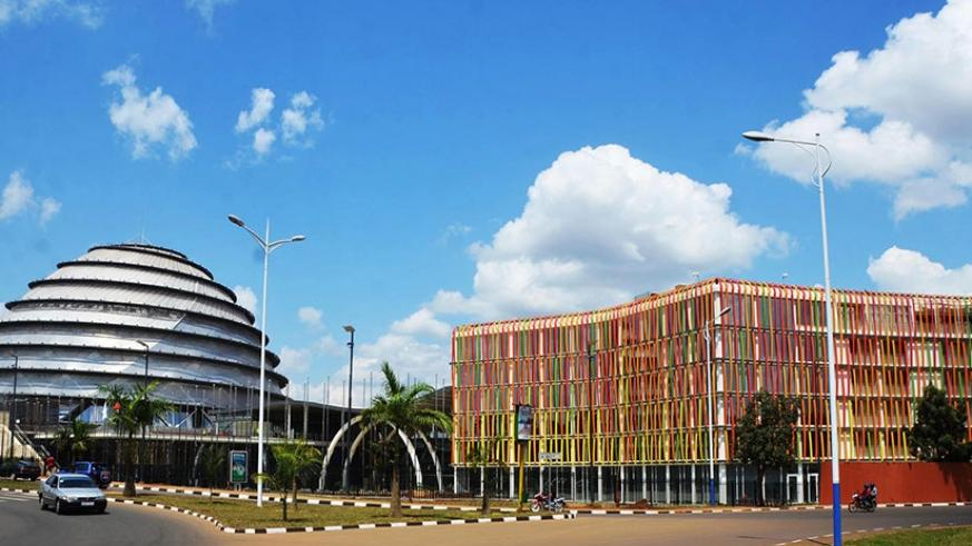 Kigali Convention Centre and Radisson Blu Hotel. Rwanda is projected to earn millions of dollars from upcoming AHIF summit scheduled for October 10-12. / Sam Ngendahimana.