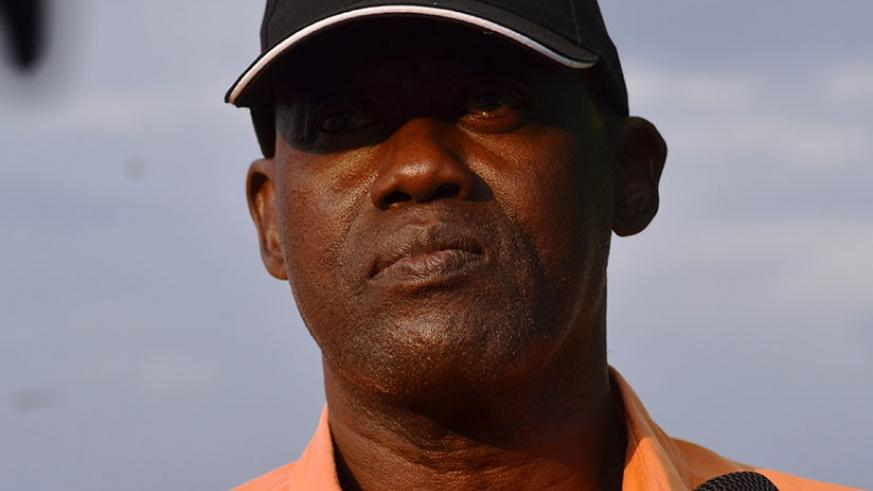 Bugesera FC have handed head coach Kanyankore (above) a two-year contract. S. Ngendahimana.