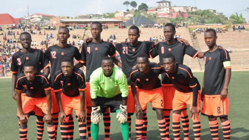 Isonga FC was recently promoted to the Azam Rwanda Premier League under head coach Moussa Gatera. / File photo