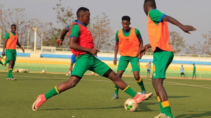 Amavubi started training on Monday at Kigali Stadium in Nyamirambo with a provisional squad of 22 players. S. Ngendahimana
