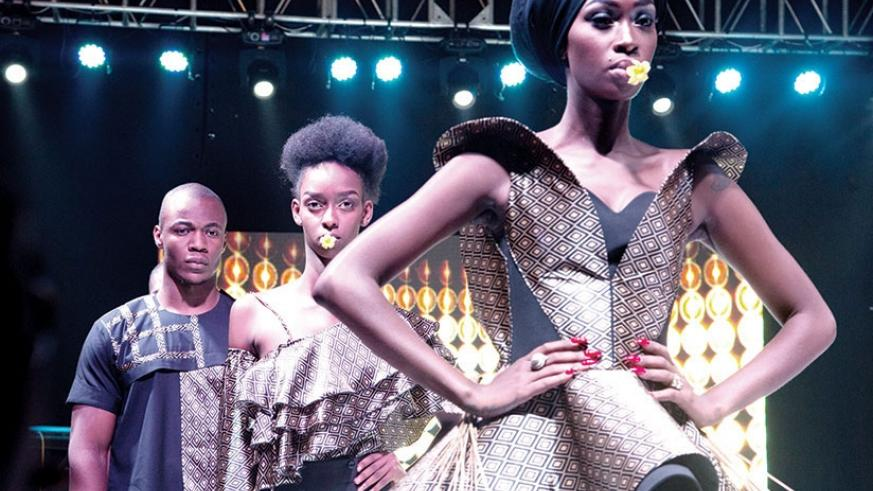 Some of the creations which were showcased at the Kigali Fashion Week last year. / File photo