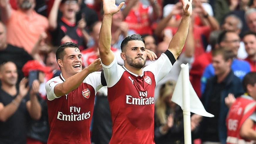 Chelsea were static and looked stunned following the surprise red card, and Kolasinac took full advantage to score. Net photo