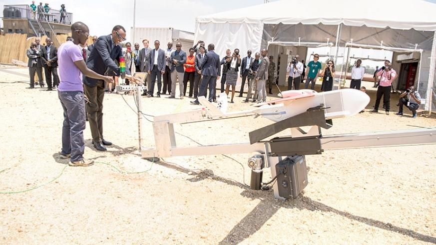 President Paul Kagame officially inaugurates medical delivery drones in Muhanga District. The project is the first of its kind in the world. The project is a milestone in both the ....